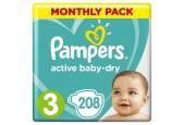 Совместная закупка - Подгузники Pampers Active Baby-Dry 3 (6-10 кг) 208 шт.
