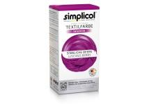 Совместная закупка - Краска для окрашивания текстиля Simplicol INTENSIV сиреневая 150 мл + 400 г. фиксатор