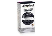 Совместная закупка - Краска для окрашивания текстиля Simplicol INTENSIV черная 150 мл + 400 г. фиксатор