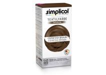 Совместная закупка - Краска для окрашивания текстиля коричневая Simplicol INTENSIV 150 мл + 400 г. фиксатор