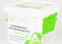 Совместная закупка - Отбеливатель пятновыводитель CLEAN HOME экспресс-эффект (порошок), 1000 г