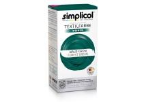 Совместная закупка - Краска для окрашивания текстиля Simplicol INTENSIV зеленая 150 мл + 400 г. фиксатор