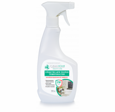 Средство для уборки поверхностей CLEAN HOME Антибактериальный эффект, 500 мл